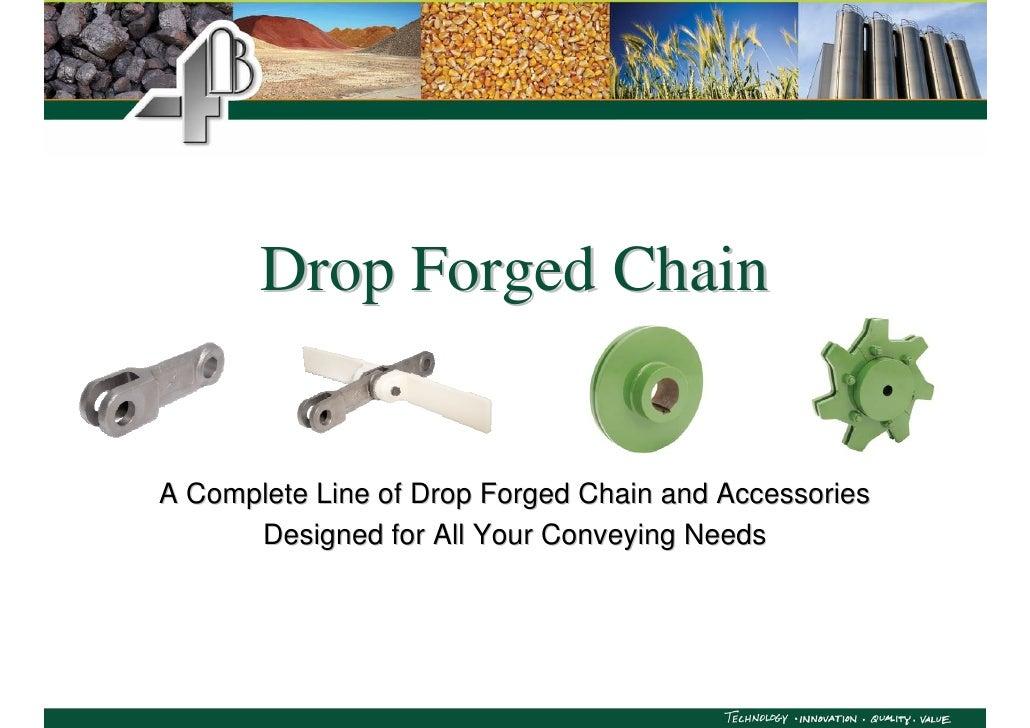 4B Forged Conveyor Chain Presentation