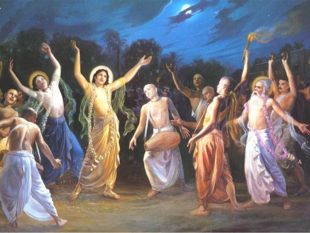 sankirtana-pravartaka sri krma-chaitanya sankirtana-yajne tanre bhaje sei dhanya Chaitanya-charitamrita, Adi-Lila 3.77