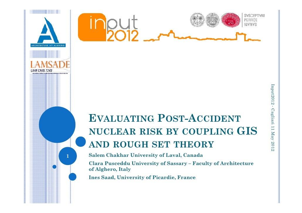 Input2012 - Cagliari 11 May 2012                                                                               -    EVALUA...