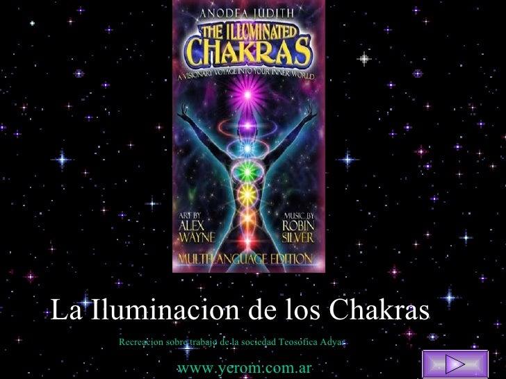 La Iluminacion de los Chakras Recreacion sobre trabajo de la sociedad Teosofica  Adyar