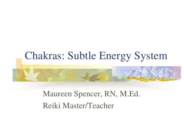 Chakra system  slide presentation