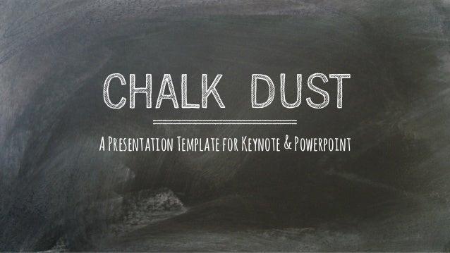 chalkboard powerpoint