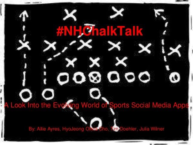 #NHChalkTalk Presentation