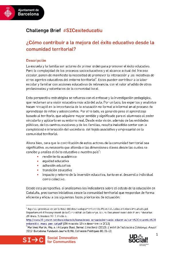 Challenge Brief #exiteducatiu esp