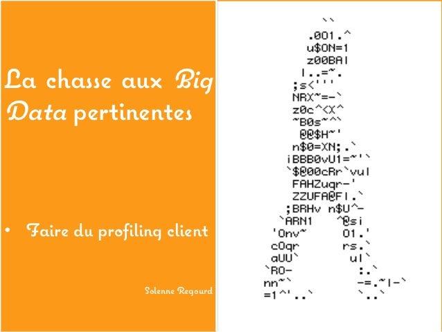 Challenge des big data