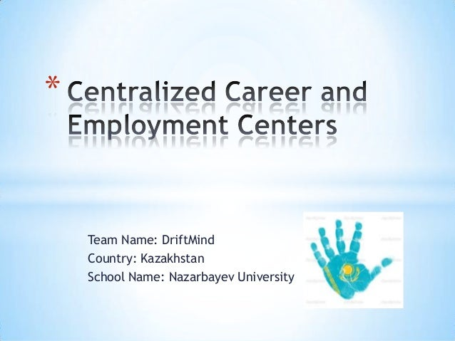 [Challenge:Future] Centralized Career and Employment Centers