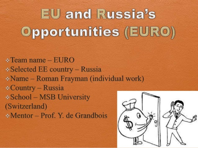 [Challenge:Future] EU and Russias Opportunities (EURO): The Future of Work
