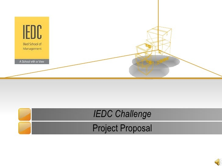 IEDC Challenge Project Proposal