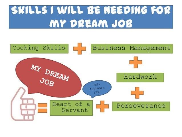 an essay on your dream job