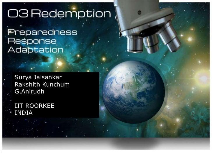 [Challenge:Future] O3 Redemption