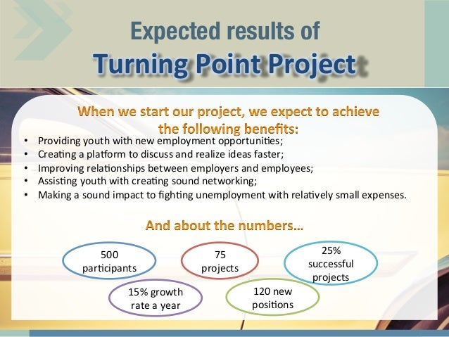 Turning Point Ideas of Turning Point Project