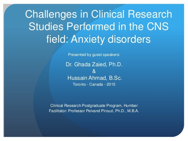 research articles on anxiety disorders