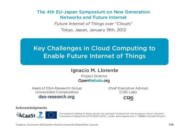 Challenges in cloud computing to enable future internet of things v0.3