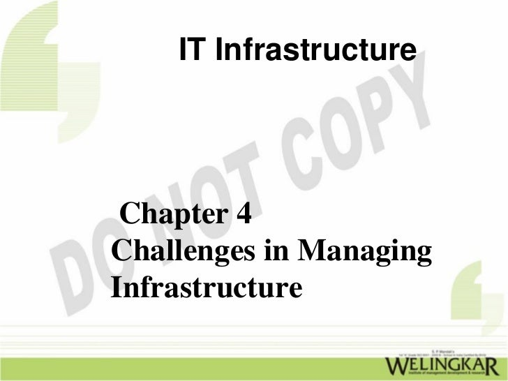 Challenges in Managing IT Infrastructure