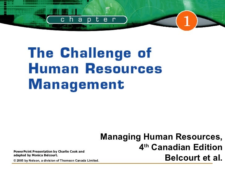 Challenges of hrm