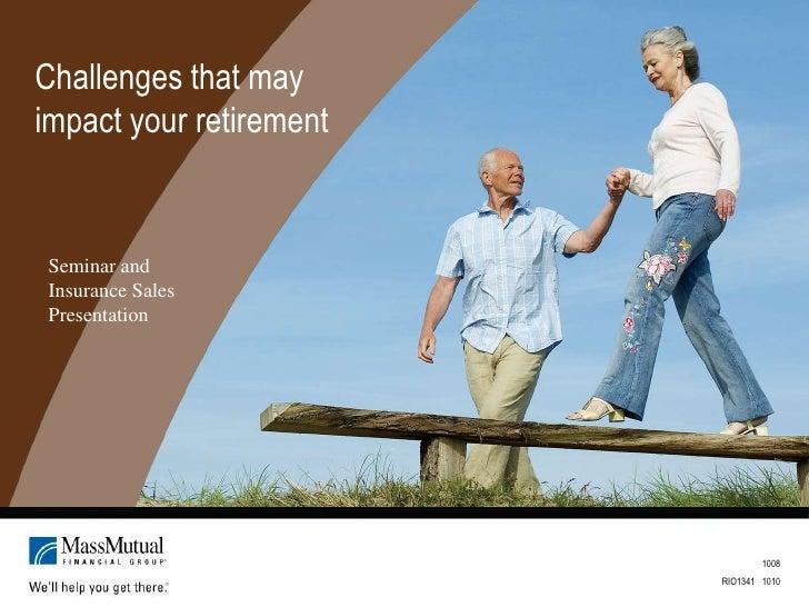 Challenges Pre Retire