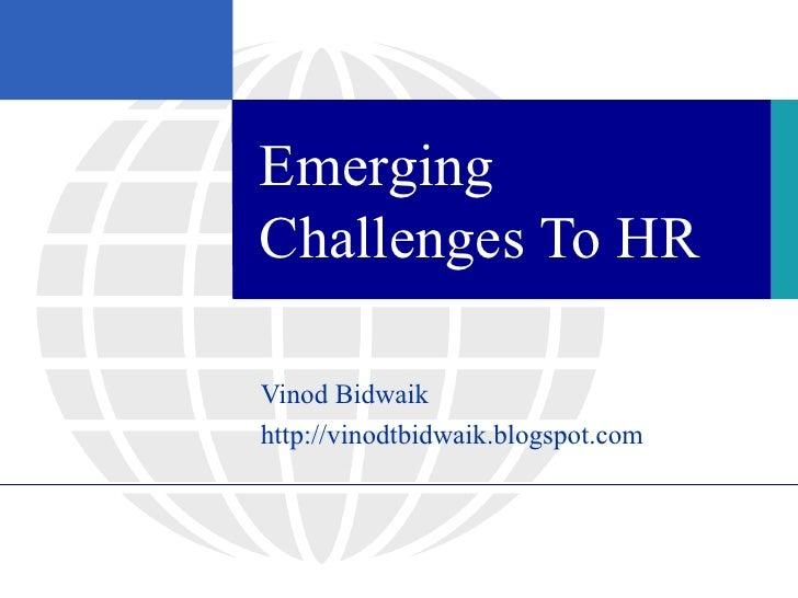 Challenges to HR