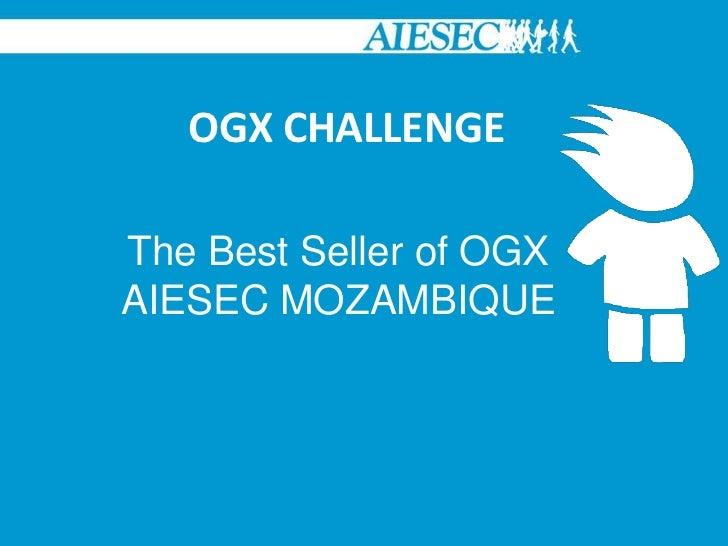 Challenge the bestsellerogx