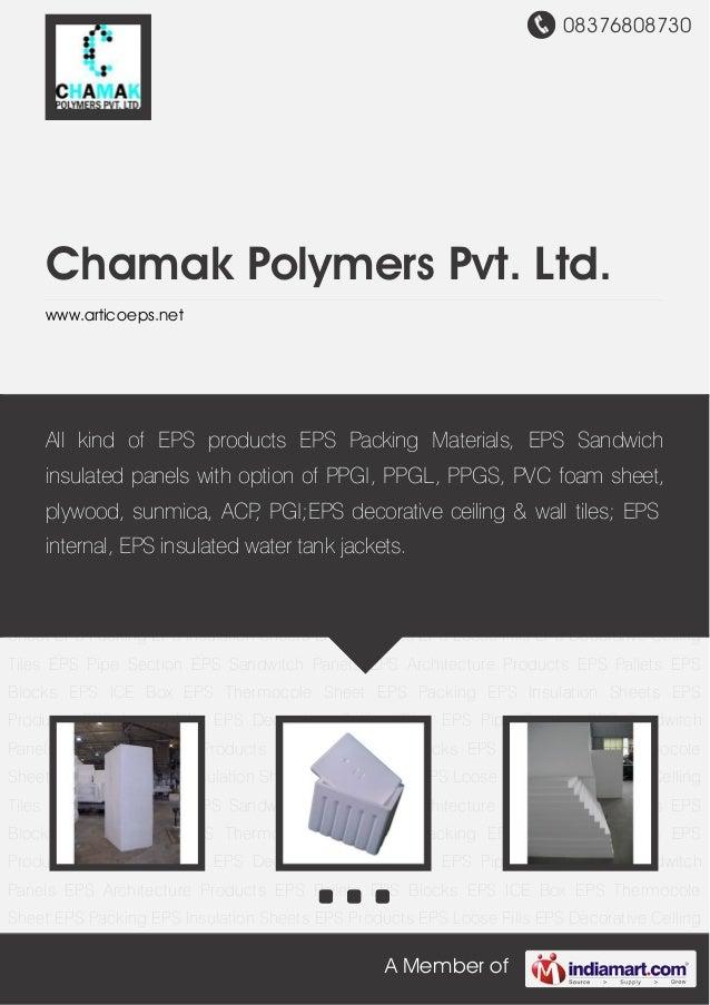 Chamak Polymers Pvt. Ltd, Ahmedabad, Box Top