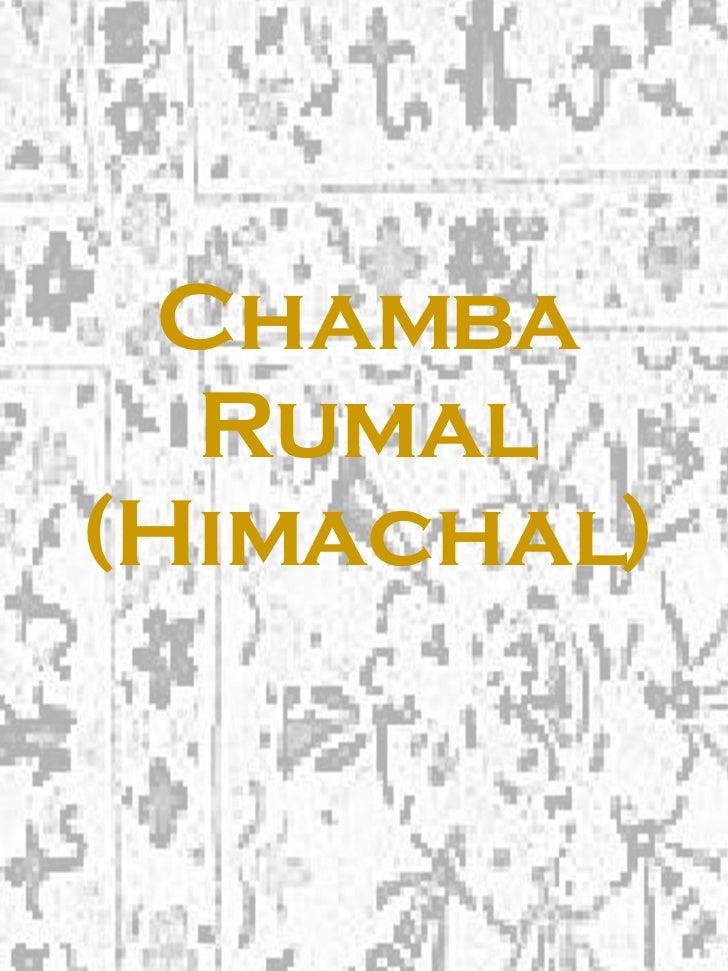 Chamba Rumal (Himachal)