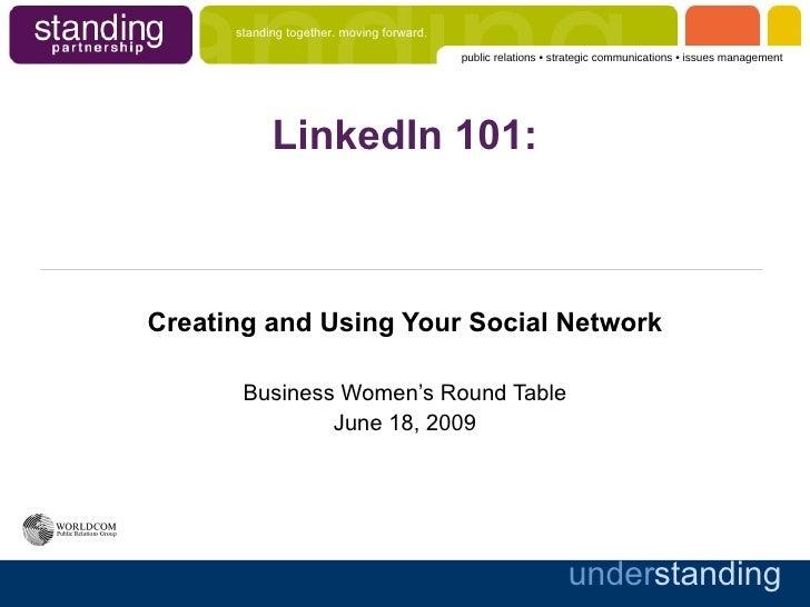 LinkedIn Basics for Charlottesville