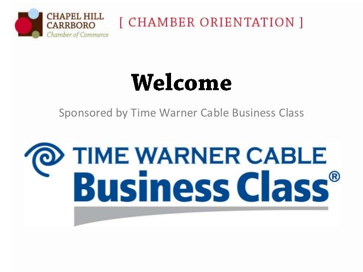 Sponsored by Time Warner Cable Business Class