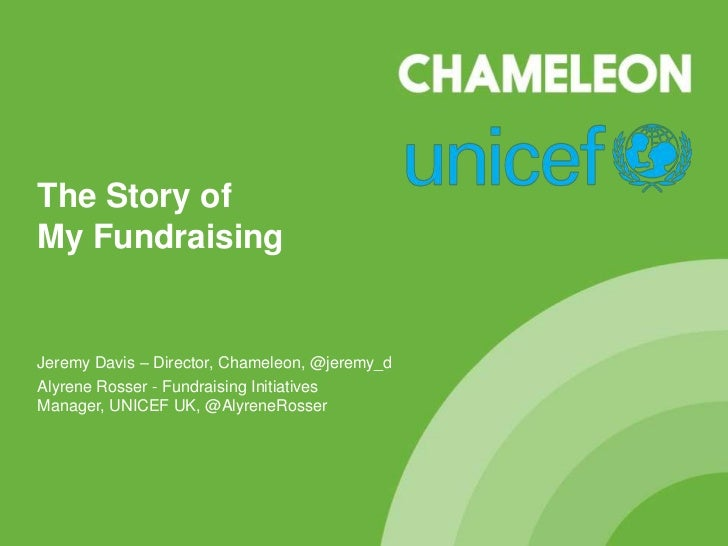 The story of UNICEF UK's My Fundraising