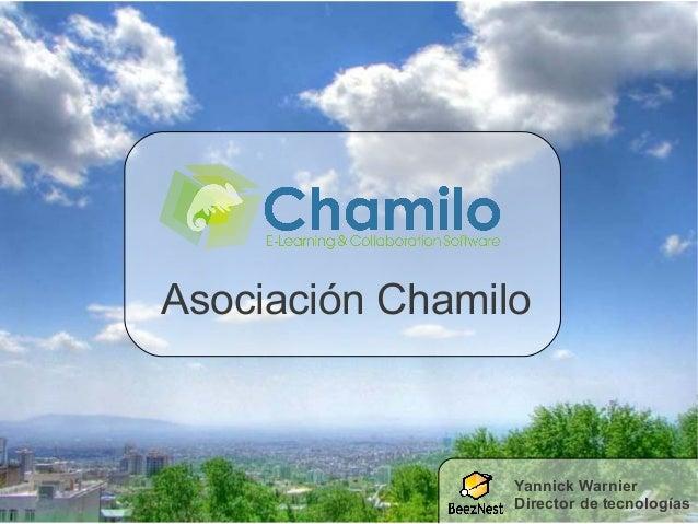 Asociación Chamilo Yannick Warnier Director de tecnologías