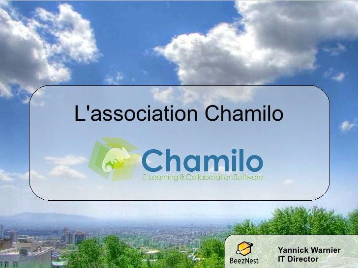 L'association Chamilo Yannick Warnier IT Director