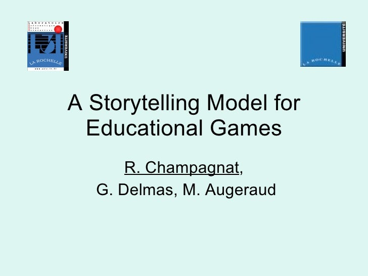 A storytelling model for educational games