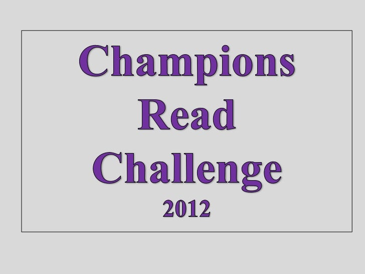 The Students at St Martin's were encouraged to unleashtheir creativity with a Champions Read Challenge…