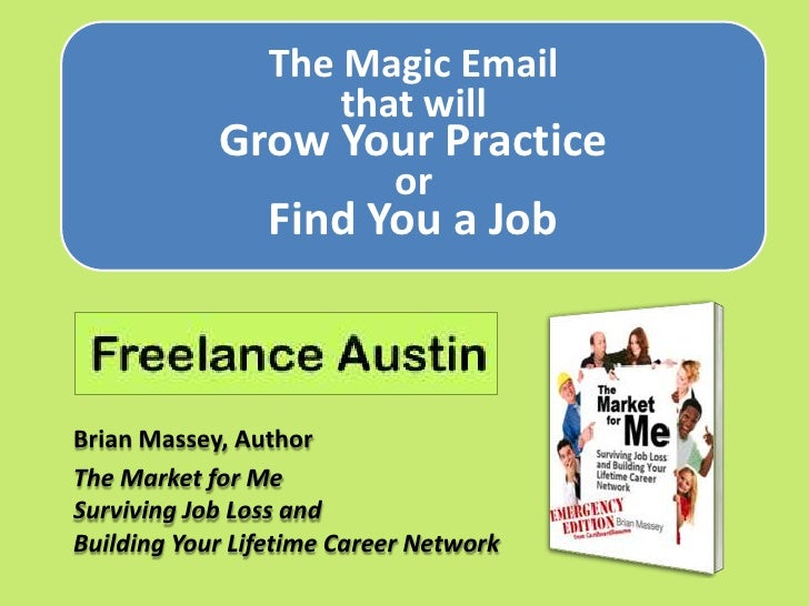 The Magic Email for Freelancers and Job Seekers
