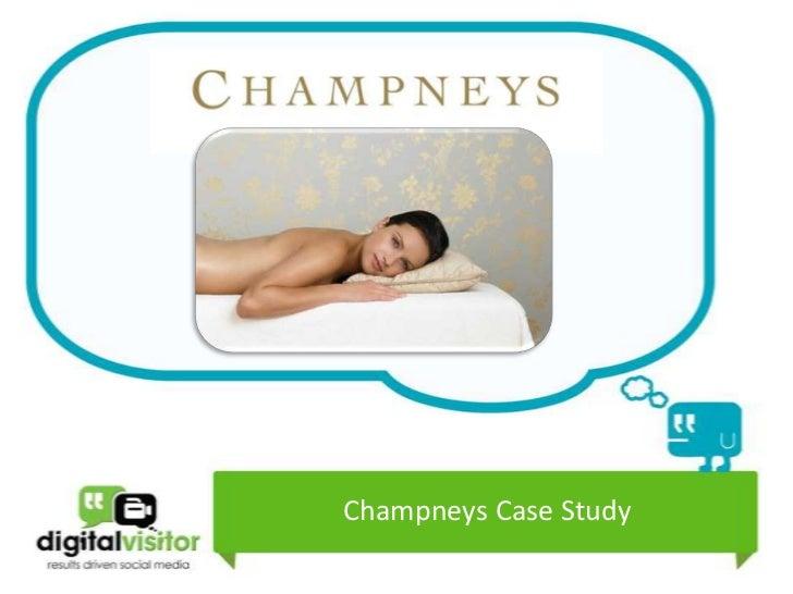 Champneys Case Study 2012
