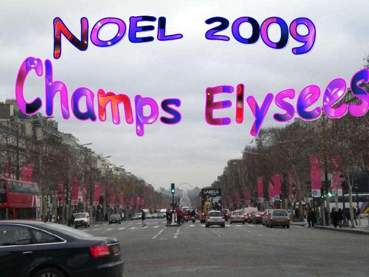 Champs Elysees   Noel 2009