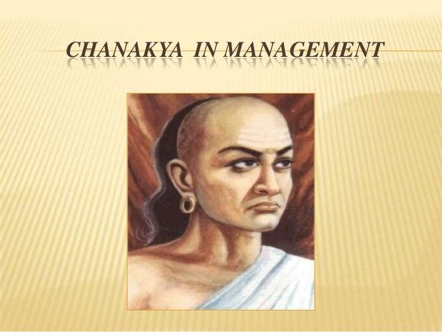 CHANAKYA IN MANAGEMENT