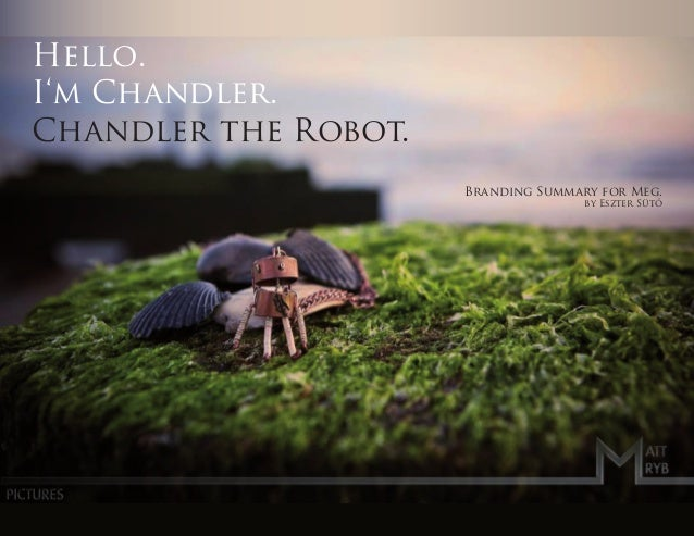 Hello.I'm Chandler.Chandler the Robot.                      Branding Summary for Meg.                                     ...