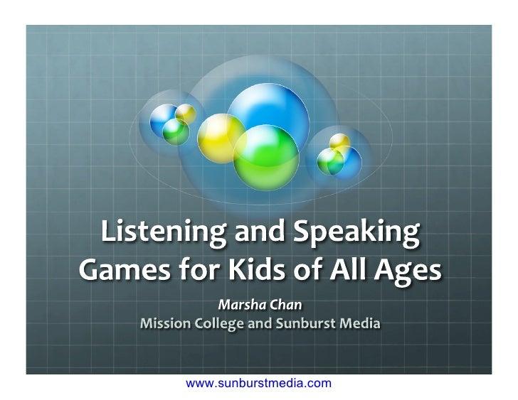 listen games for kids