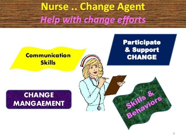 effects of change in nursing However, the effects of changes regarding nursing record systems on nursing practice and on patient outcomes were modest, and most of the studies targeted documentation time to perform nursing tasks, which is a small part of the nursing practice.