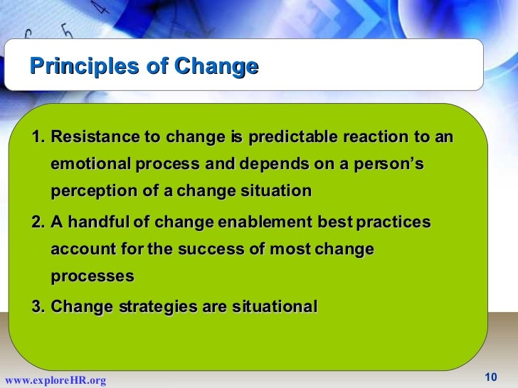an individuals resistance to change essay Resistance to change: organizations and individuals rafaelcollado mgt/426 resistance to change: organizations and individuals introduction organizations use change models to focus on improvement process that will.
