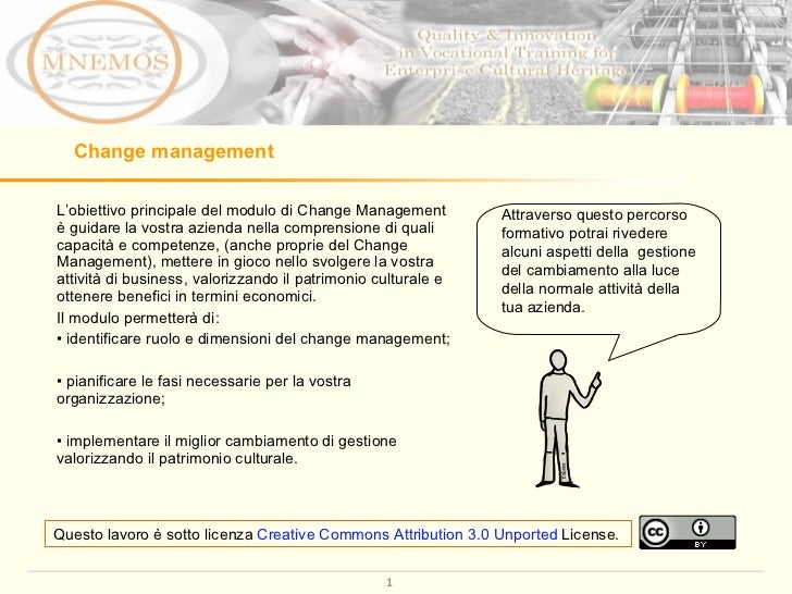 Change Management Learning Module IT
