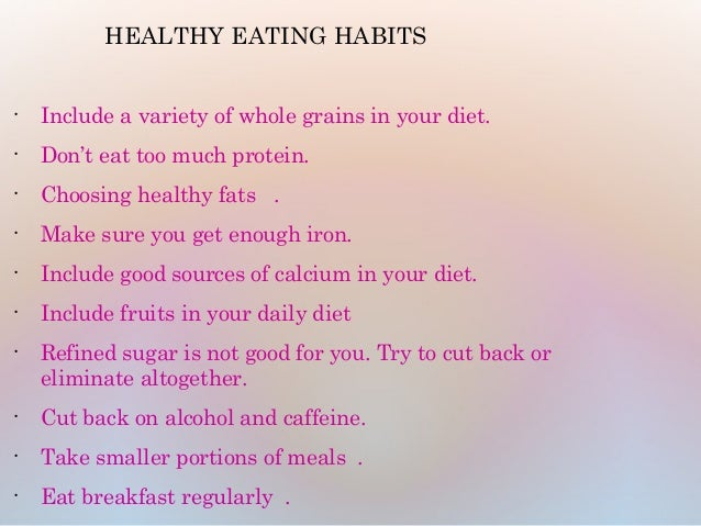 an essay on the alteration of dietary habits 2016-8-23 disease prevention through diet & nutrition healthy diet facts  therefore, most dietary recommendations are aimed at preventing these two diseases.