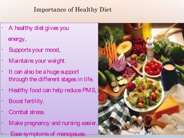 realize importance of healthy eating Importance of healthy eating for teenagers teenage refers to the adolescent years when an individual goes through a period of mental and physical development.