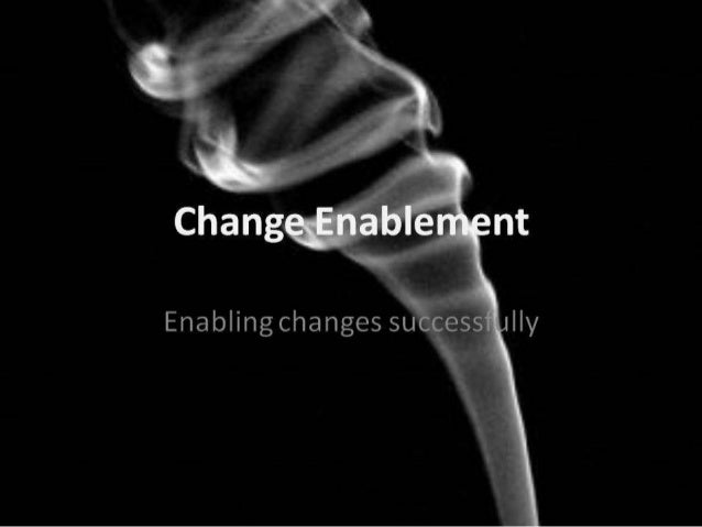 Leading Change Successfully