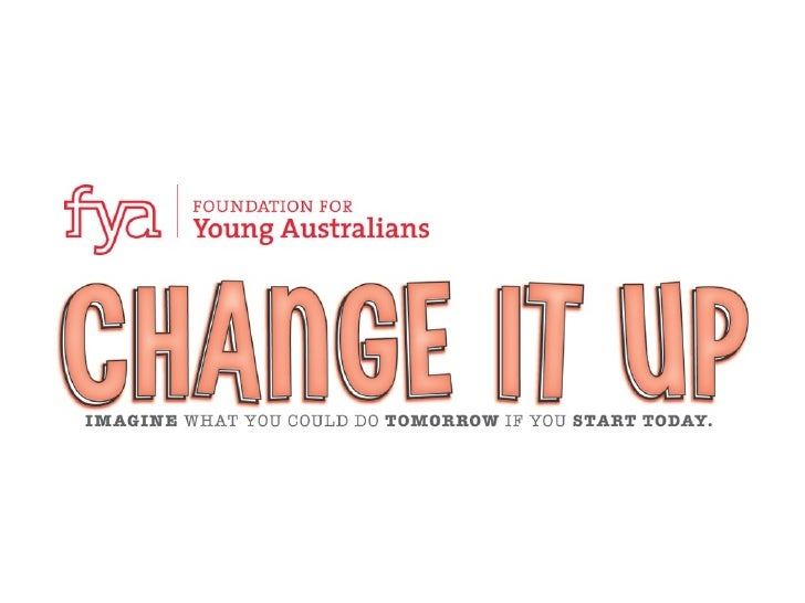 objectives       To spark the change making ideas of young people           living in regional and remote Australian commu...