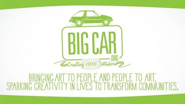 Big Car - City Changemaker - Jim Walker