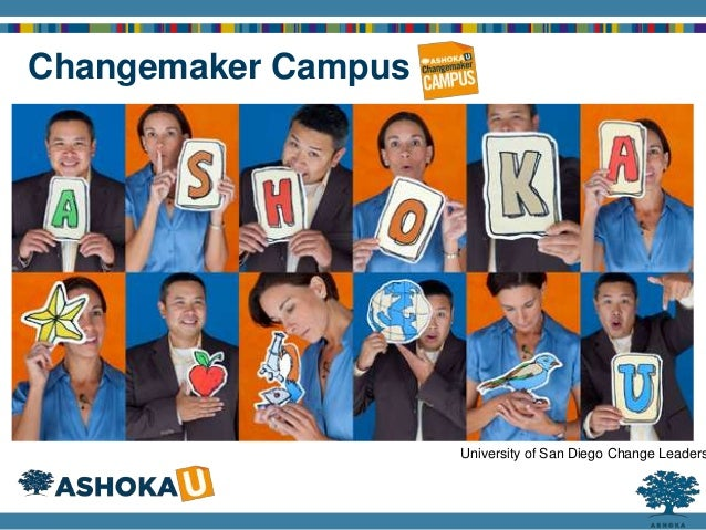Social Entrepreneurship 101 Changemaker Campus University of San Diego Change Leaders