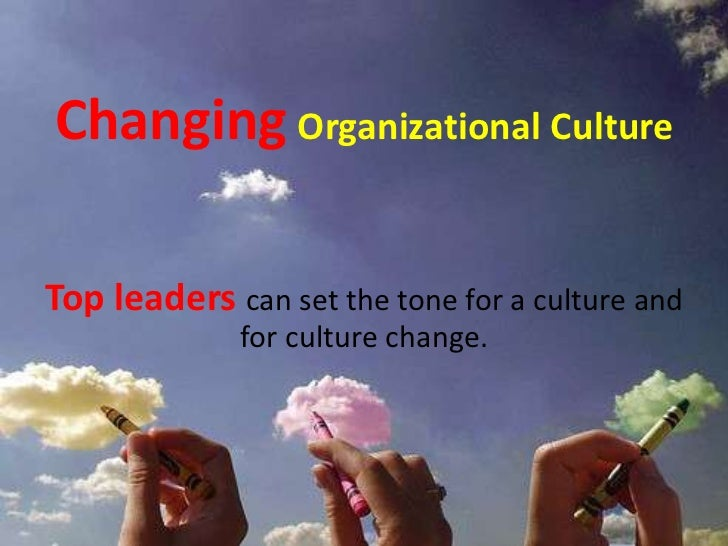Essay on organisational culture