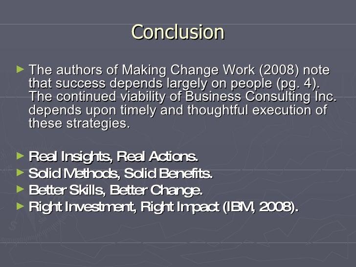 case study change management failure