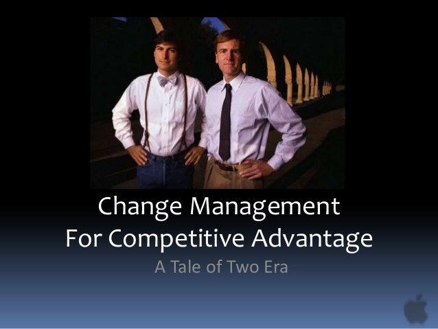 Change Management for Competitive Advantage - Managing People Group Presentation