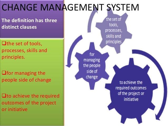 mba thesis change management